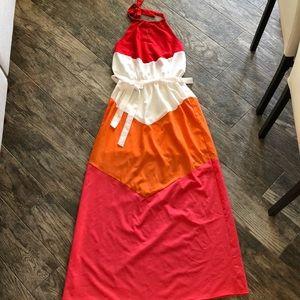 Boutique mahal tee maxi dress